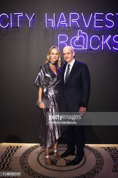 Lise Evans and Michael Evans attend City Harvest The 2019 Gala on April 30 2019 at Cipriani 42nd Street in New York City