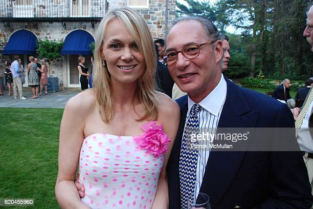 Lise Evans and Oscar Junguera attend The Nature Conservancy's Beaches Bays Gala at East Hampton on June 28 2008 in East Hampton New York