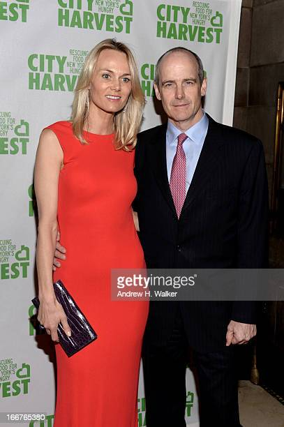 Lise Evans and vice chairman at Goldman Sachs Group Inc Michael Evans attend the City Harvest 19th Annual An Evening Of Practical Magic Honoring Marc...