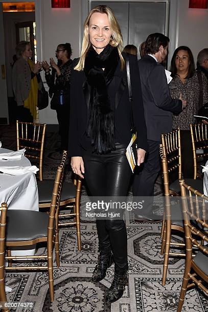 Lise Evans attends ICP's luncheon honoring Photographer/Filmmaker Laurie Simmons on November 1 2016 in New York City