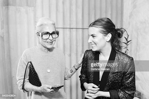 Lise Lotte and Rachel Comey attend Rachel Comey Los Angeles Store Opening on June 15 2016 in Los Angeles California