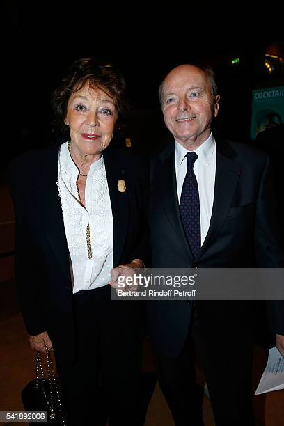 Lise Toubon and Jacques Toubon attend the 'Jacques Chirac ou le Dialogue des Cultures' Exhibition during the 10th Anniversary of Quai Branly Museum...