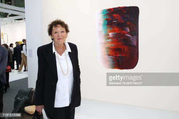 Lise Toubon attends the FIAC 2019 International Contemporary Art Fair Press Preview at le Grand Palais on October 16 2019 in Paris France