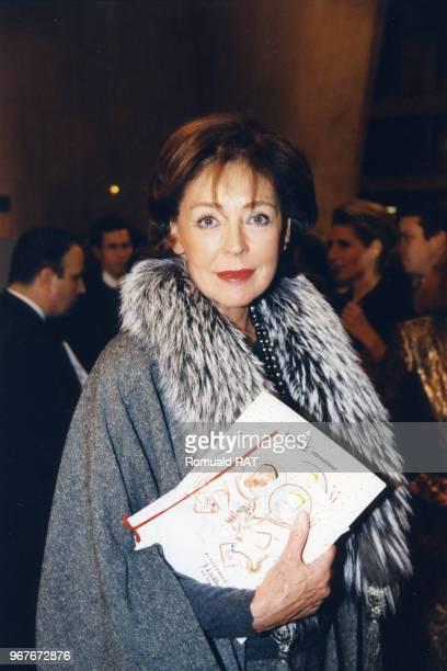Lise Toubon lors d'un gala à l'UNESCO le 30 novembre 1998 à Paris France
