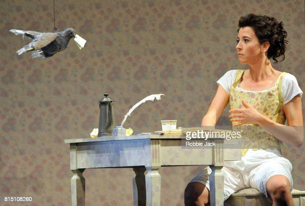 Lisette Oropesa as Norina in Gaetano Donizetti's Don Pasquale at Glyndebourne Opera House on July 13 2017 in Glyndebourne East Sussex