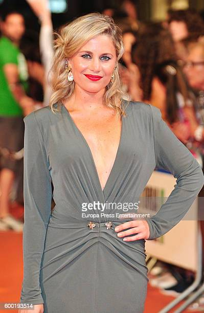Lisi Linder attends 'Mar de Plastico' premiere at Principal Theater during FesTVal 2016 Televison Festival on September 7 2016 in VitoriaGasteiz Spain