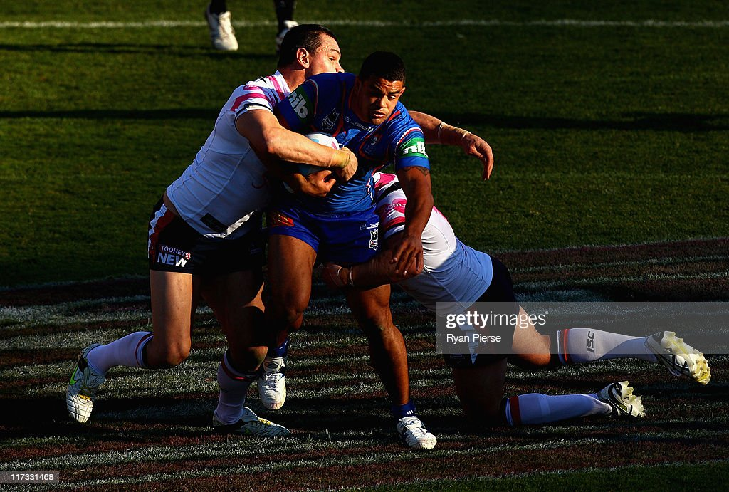 NRL Rd 16 - Knights v Roosters