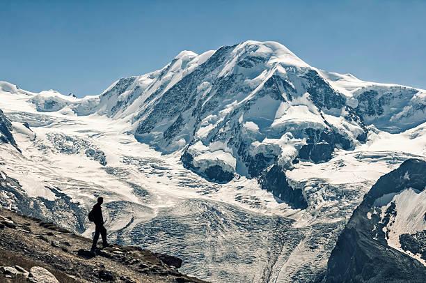 Liskamm (Lyskamm) 4527m Mountain Peak In Pennine Alps - XXIV Wall Art
