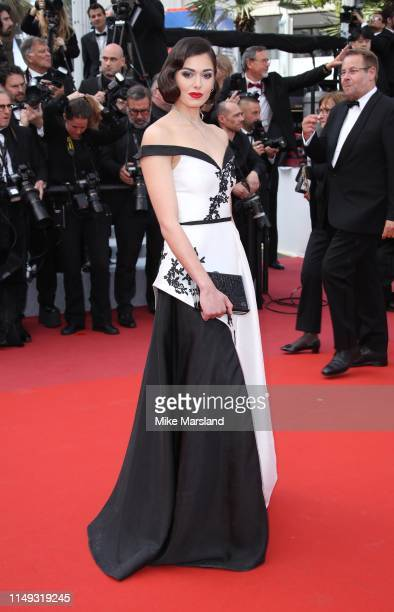 Lison di Martino attends the screening of Les Miserables during the 72nd annual Cannes Film Festival on May 15 2019 in Cannes France