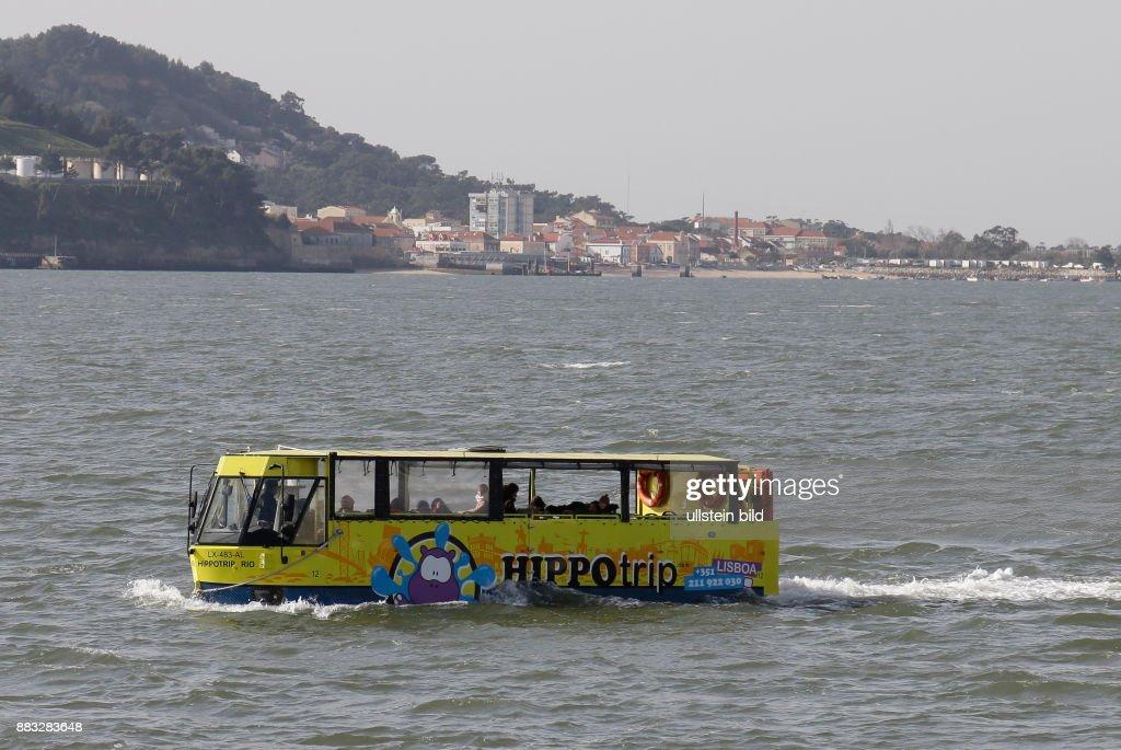 Fluss In Portugal flussmündung des tejo amphibienfahrzeug pictures getty images