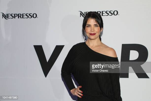 Lisset attends the Nespresso Vertuo launch on September 26 2018 at Piacere in Mexico City Mexico