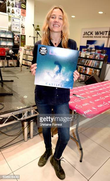 Lissie during an instore signing and performance of her new album 'Castles' at HMV Manchester on March 27 2018 in Manchester England