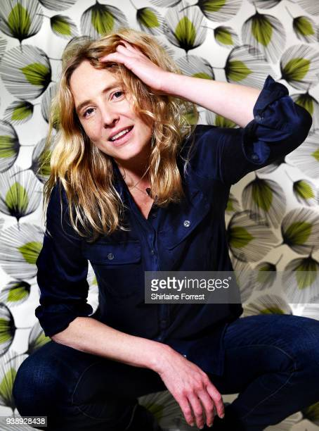 Lissie poses backstage after an instore signing and performance of her new album 'Castles' at HMV Manchester on March 27 2018 in Manchester England
