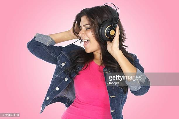 Lauschen Sie der Musik