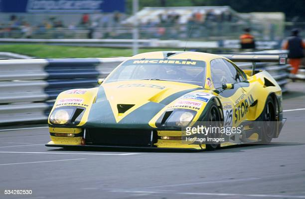 Lister Storm 1999 FIA GT 500 Silverstone. Tiff Needell, 2000.