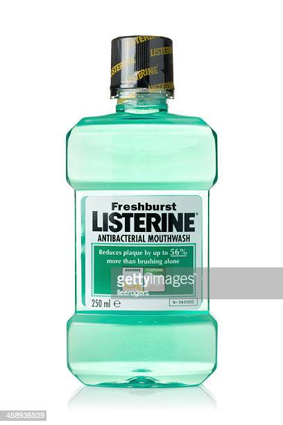listerine - mouthwash stock pictures, royalty-free photos & images