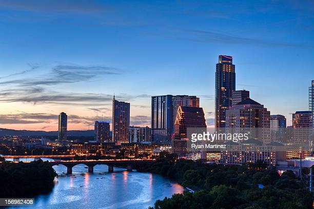 lit on fire - austin texas stock pictures, royalty-free photos & images