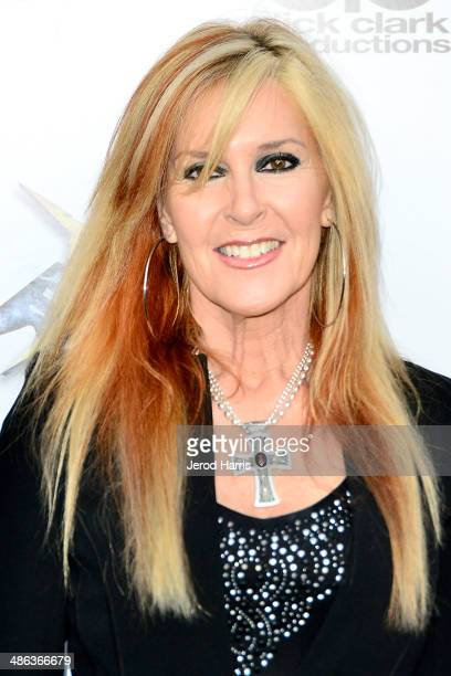 Lita Ford arrives at the 2014 Revolver Golden Gods Awards at Club Nokia on April 23 2014 in Los Angeles California