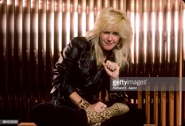 Lita Ford ex Runaways posed in Los Angeles in 1988