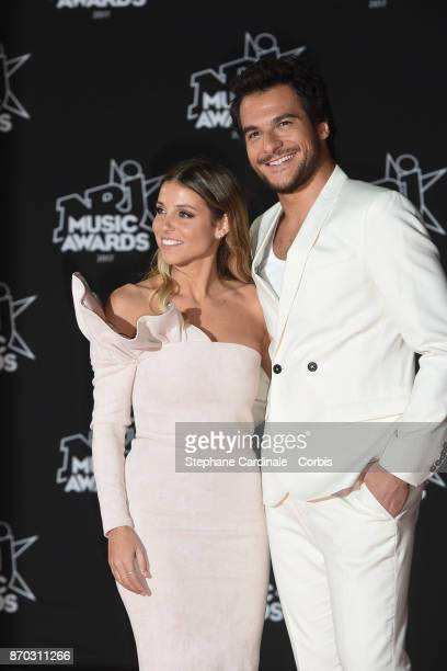Lital Haddad and Amir attend the 19th NRJ Music Awards on November 4 2017 in Cannes France