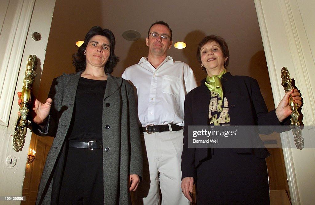 LitAwardsWinners02-03/05/01-Literary award winners Helen Humphreys, Trevor Herriot, and Erna Paris w : News Photo