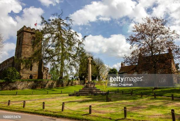 litchborough village, northamptonshire - northamptonshire stock pictures, royalty-free photos & images