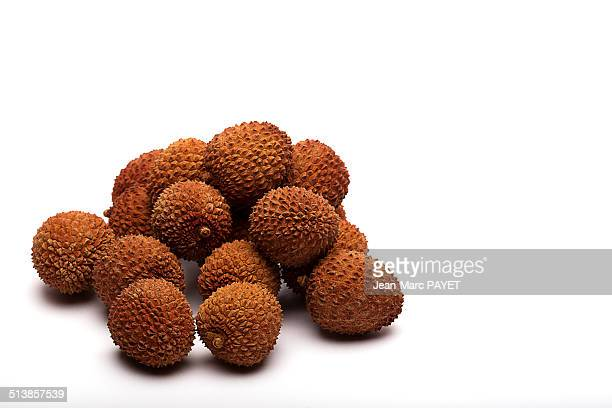 litchi - jean marc payet stock pictures, royalty-free photos & images
