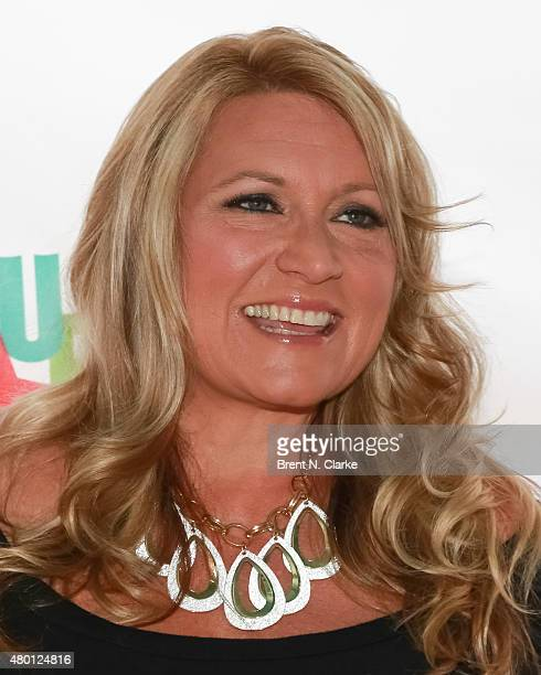 Lite FM onair personality Delilah attends 1067 Lite FM's Broadway In Bryant Park 2015 held at Bryant Park on July 9 2015 in New York City