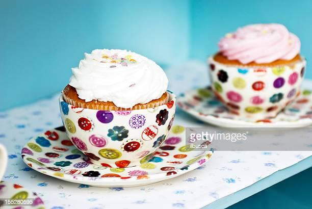 文字通りカップケーキ