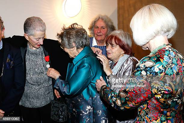 Literary criticism Helene Cixous actress Emmanuelle Riva Stage Director Ariane Mnouchkine Photographer Agnes Varda and Rector of the academic agency...