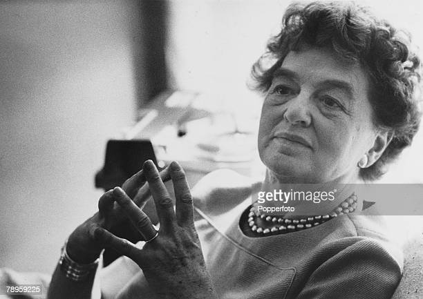 Literature Circa 1950's Australian born author and journalist Pamela Travers Travers wrote the Mary Poppins series of books