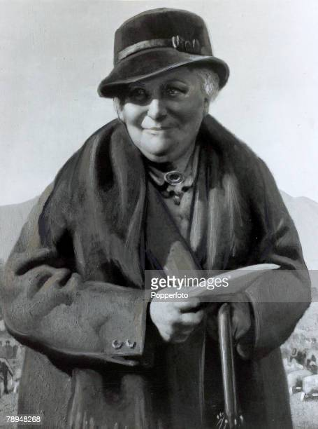 Literature Personalities, pic: circa 1938, English author Beatrix Potter from a painting some years before her death , Beatrix Potter, an author and...