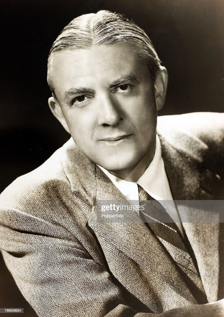 Literature. Personalities. pic: circa 1940. James Hilton, English novelist, (1900-1954), among his works 'Goodbye Mr. Chips' and 'Random Harvest'. : News Photo