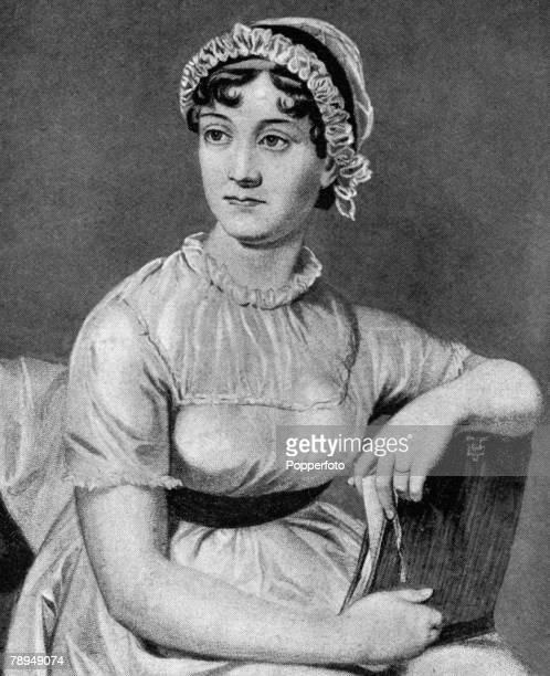 Literature Portrait of writer and author Jane Austin