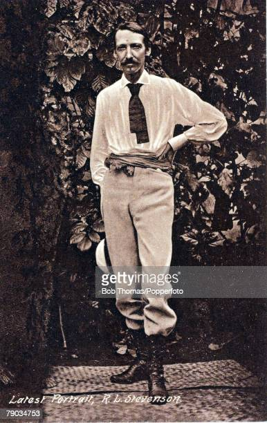 Literature Robert Louis Stevenson Scottish novelist and poet