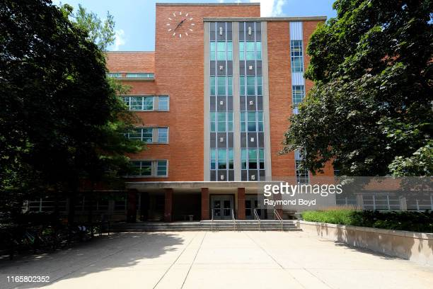 Literature, Science and The Arts Building at the University Of Michigan in Ann Arbor, Michigan on July 30, 2019.