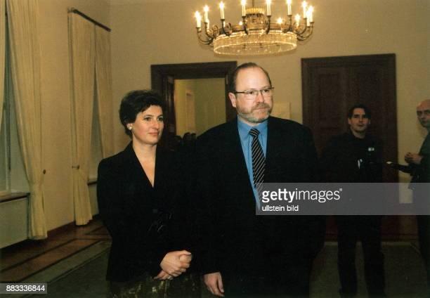Literaturwissenschaftler Soziologe Industrieerbe D mit Ehefrau Ann Kathrin Scheerer