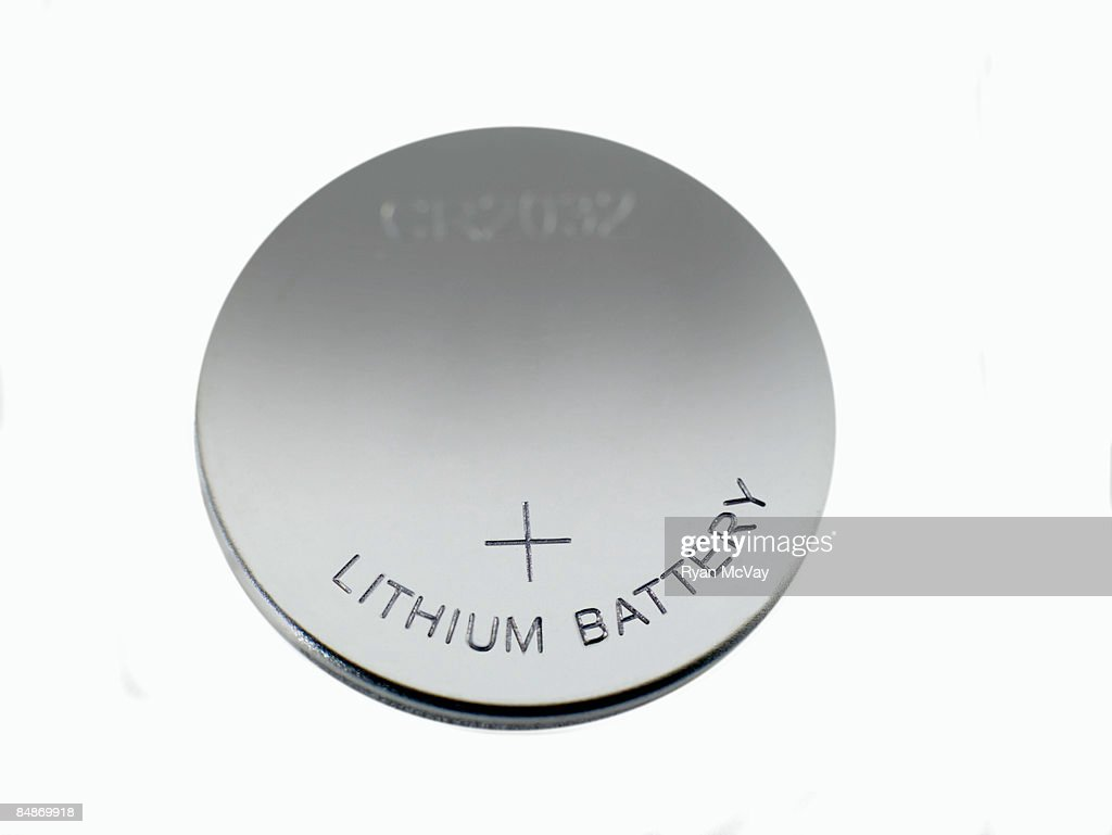 Lithium Battery : Stock Photo