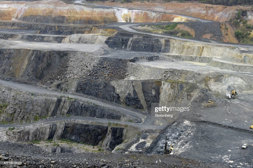 lithium ore is mined in the open pit at a talison lithium ltd site