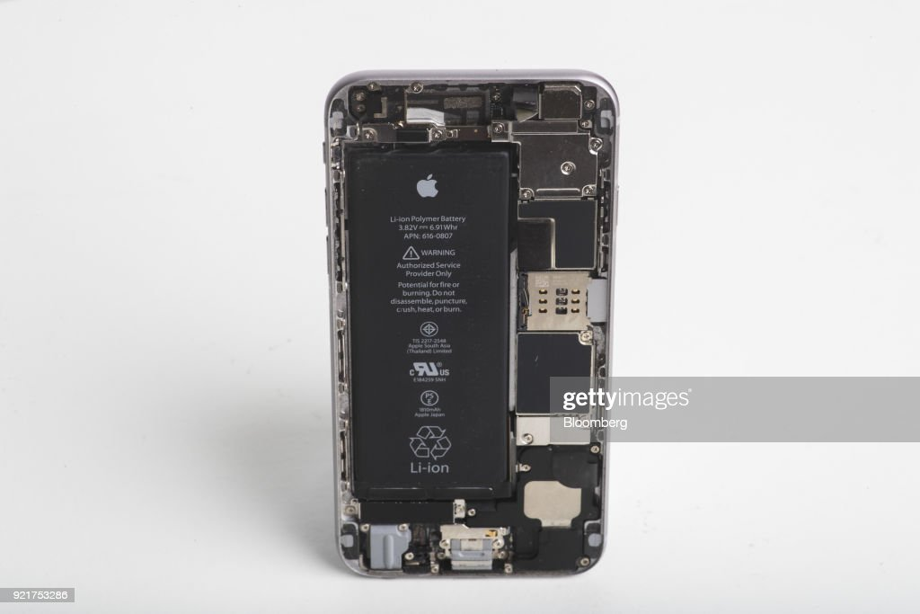 Inside An Apple Inc. iPhone 6 Smartphone