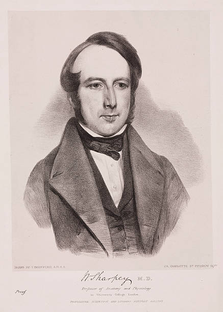William Sharpey English Physician C 1842 Pictures Getty Images