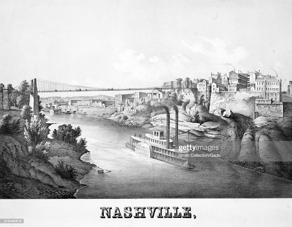 View Of Nashville, Tennessee : News Photo