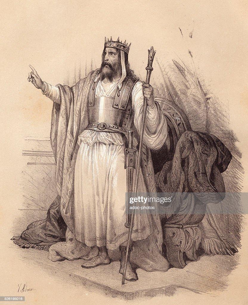 Nebuchadnezzar II, King Of Babylon : News Photo