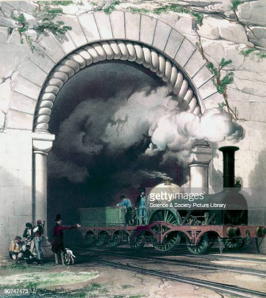 A lithograph of this illustration was used by John Cooke Bourne as the frontispiece of his book 'The History and Description of the Great Western...