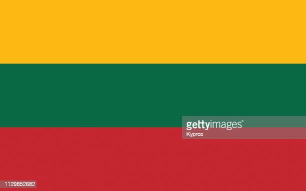 lithuania flag - lithuania stock pictures, royalty-free photos & images