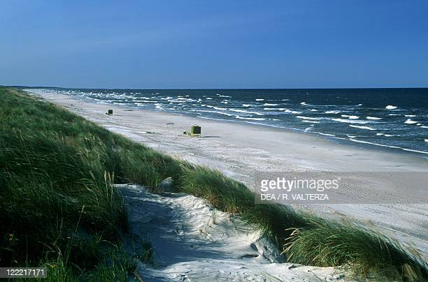 Lithuania Neringa and Klaipeda Curonian Spit Beach along Baltic Sea