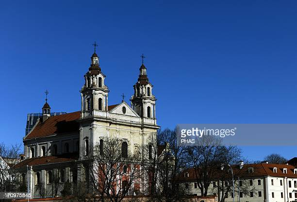 Lithuania Vilnius Church of Saint Raphael the Archangel 18th century Overview