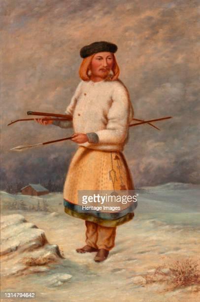 Lithuanian Man, ca. 1890-1899. Artist Antonio Zeno Shindler.
