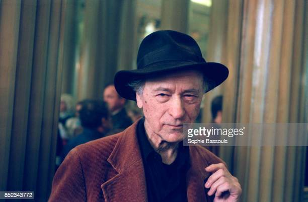 Lithuanian movie director Jonas Mekas who created the Anthology Film Archive in New York in 1970 receives the 1997 Pier Paolo Pasolini Award in Paris