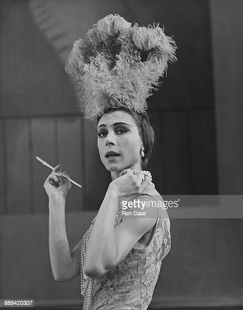 Lithuanianborn British ballerina Svetlana Beriosova during rehearsals for the ballet 'Les Biches' at the Royal Opera House Covent Garden London 30th...